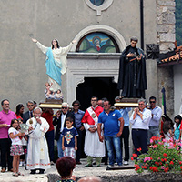 Comune di Opi - L'Aquila - 24-25 giugno S. Giovanni Battista e S. Vincenzo Ferreri